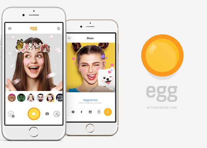 """""""Egg"""" te enseña como jugar con tus selfies"""